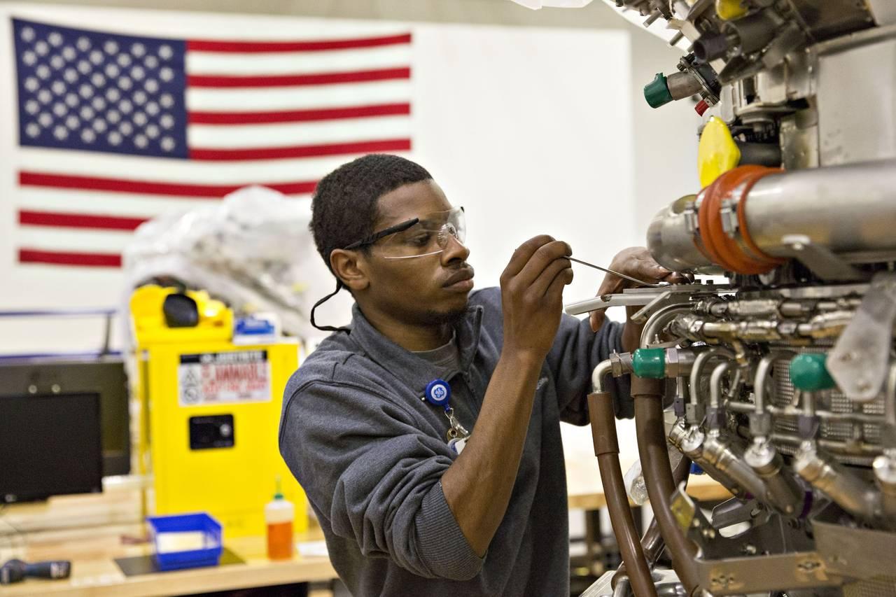 African American Machine Repair