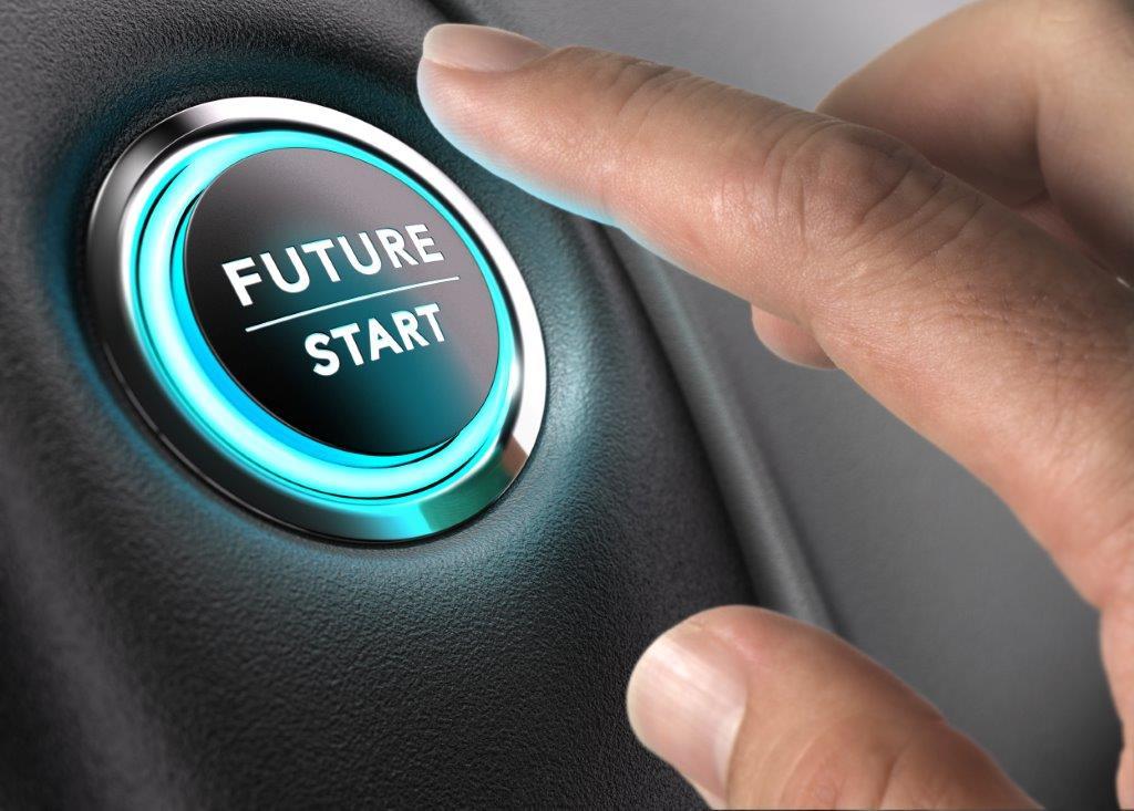 Power button to start future
