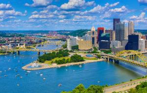 Aerial Pittsburgh Skyline | Davalyn Corp
